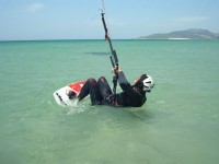 Kitesurfing safely with no worries with Tarifa Max Kitesurfing rescue boat.